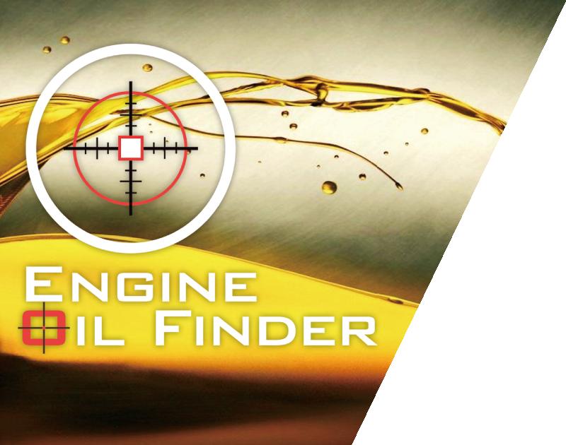 ENGINE OIL FINDER